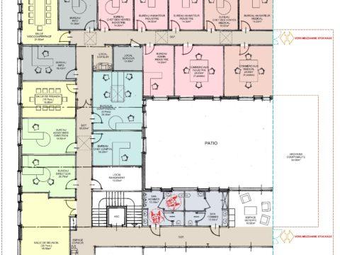 A Plans bureaux R+1