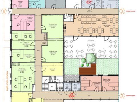 A Plans bureaux RDC